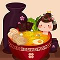illustrator 教學 «2016年01月» 日式料理26-酒杯陰影.jpg