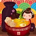 illustrator 教學 «2016年01月» 日式料理28-背景-波浪.jpg