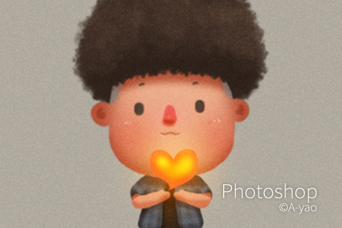 photoshop-插畫-相信自己的心.jpg
