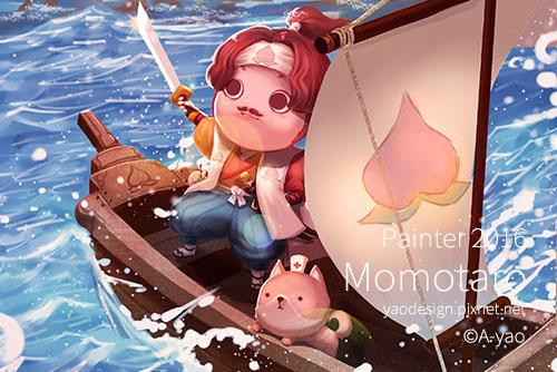 pixnet-painter-桃太郎.jpg