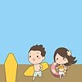 《YaoWork》《illustrator》海灘-14-男主角沖浪板.jpg