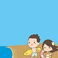 《YaoWork》《illustrator》海灘-16-沙灘-海浪.jpg