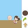 《YaoWork》《illustrator》海灘-12 男主角頭.jpg