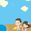 《YaoWork》《illustrator》海灘-18-雲-鳥.jpg