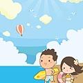 《YaoWork》《illustrator》海灘-24-沙灘球.jpg