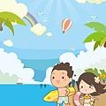 《YaoWork》《illustrator》海灘-31-彩虹.jpg