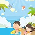 《YaoWork》《illustrator》海灘-35-海浪-沙灘.jpg