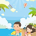 《YaoWork》《illustrator》海灘-37-浪花-海星.jpg