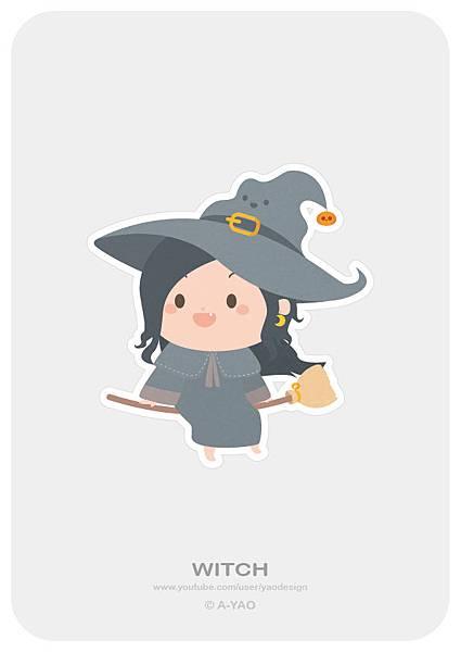 2018-10-03 HalloWeen-巫婆.jpg
