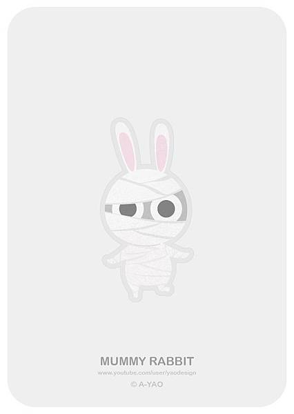 2018-10-03 HalloWeen-木乃伊兔.jpg