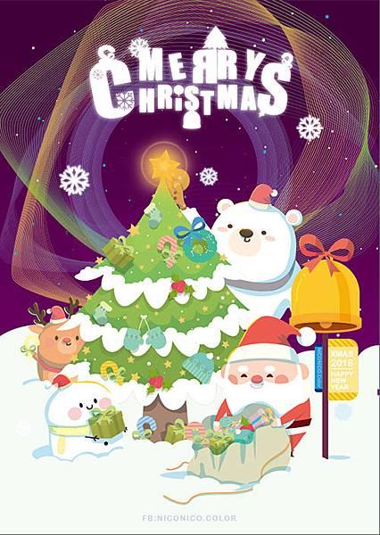 2018-11-13 MerryChristmas 名信片4.jpg