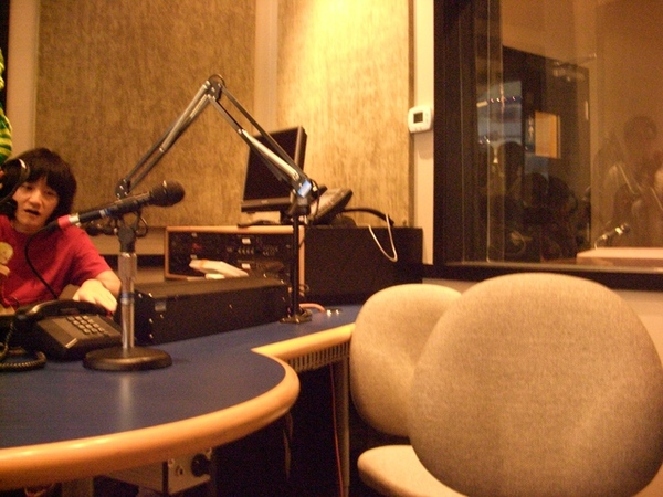 有朝一日 旺福也來開一個廣播節目