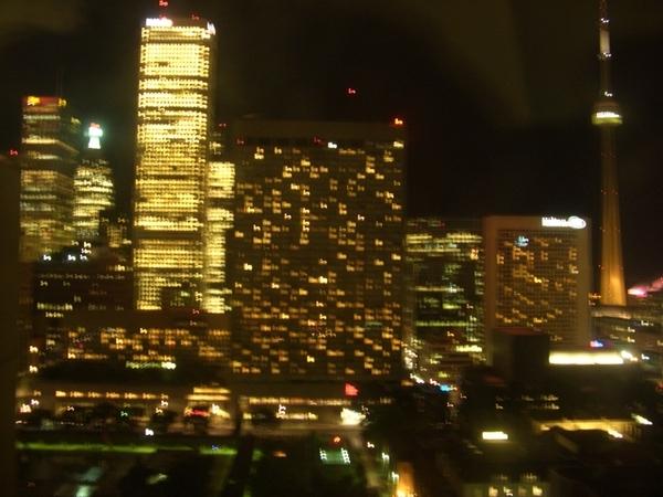 多倫多的夜景