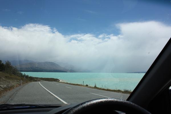 在紐西蘭美景俯拾即是
