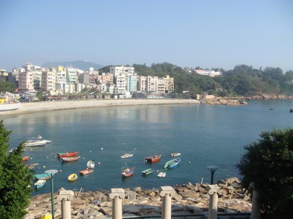 這是我第一次感受到香港不同的美