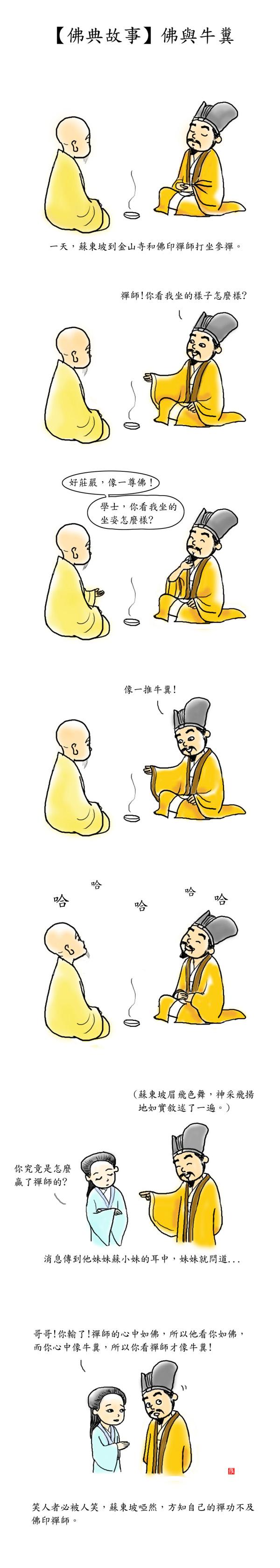 佛與牛糞.jpg