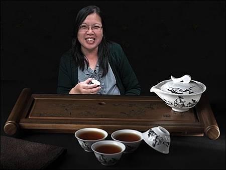 天天喝上等茶對嗎?
