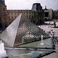 巴黎羅浮宮一景