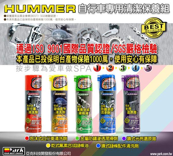 HUMMER自行車專用清潔保養組-01