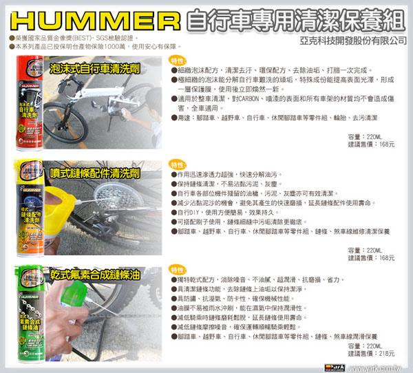 HUMMER自行車專用清潔保養組-02