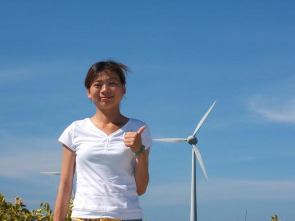 變態的我超喜歡這個風車,上次在墾丁沒拍到,這次一定要補一下.