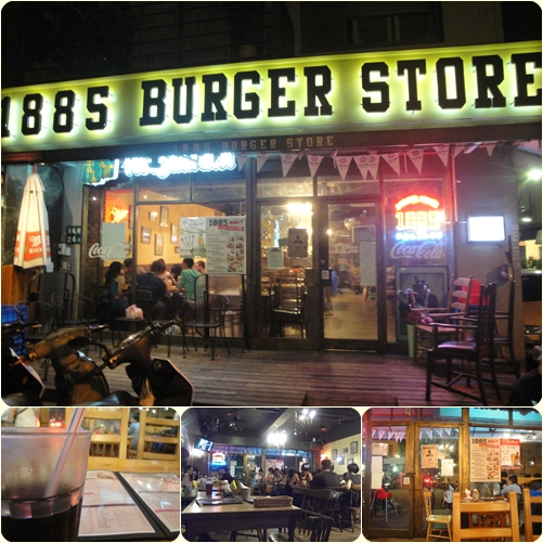 1885 BURGER STORE