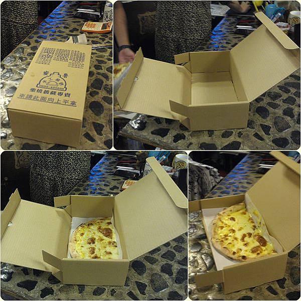 彰化蜜魯手工窯烤披薩_外帶盒