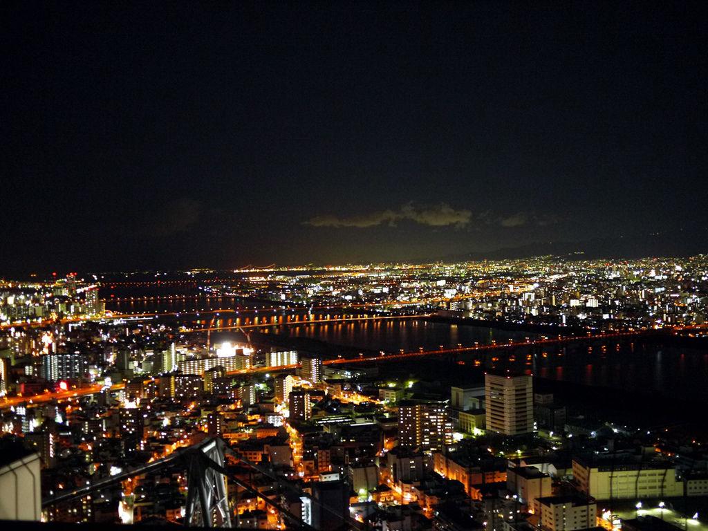 梅田展望大樓夜景1