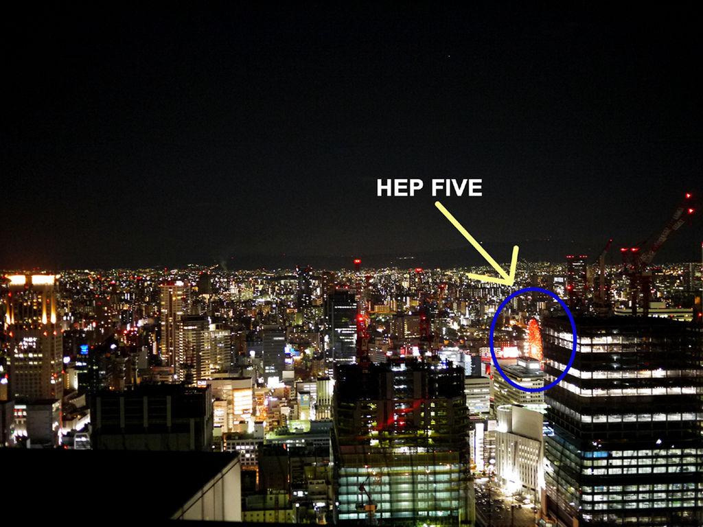 梅田展望大樓夜景4