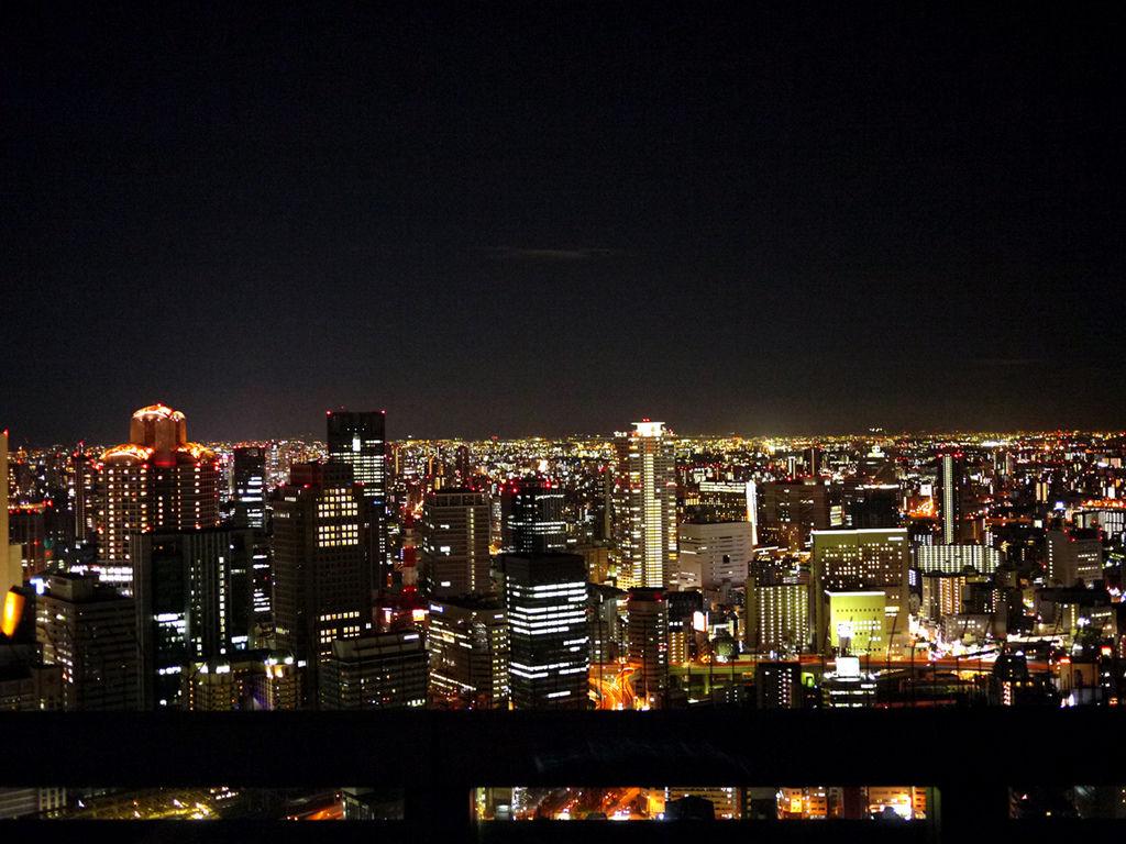 梅田展望大樓夜景2