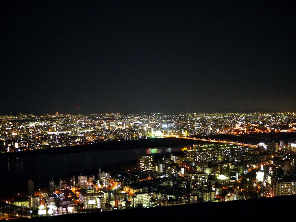 梅田展望大樓夜景3
