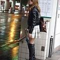 捷運站看到的台北辣妹打扮