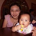 我和可愛的米其林寶寶合照