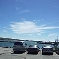 富基漁港的天空