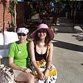 Ni和Betty@Villa Sugar 海邊