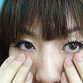 小愛說~眼睛要至少這樣才可以....