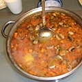 一大鍋蔬菜湯