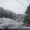 窗外的美麗雪景