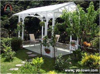 庭園涼亭休閒風格