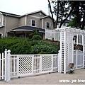 歐式圍籬及入口設計