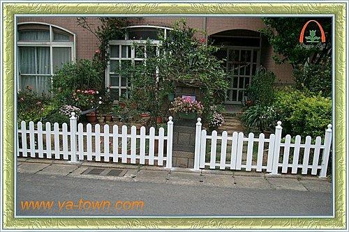 鋁合金圍籬加開小門