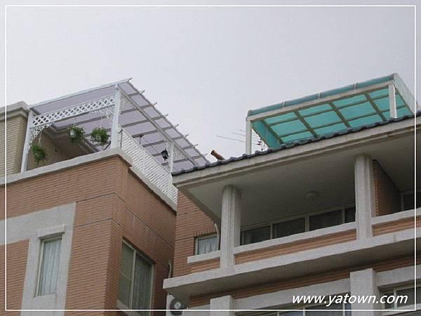 屋頂採光罩樣式