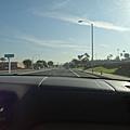 往Cal State Fullerton的路上