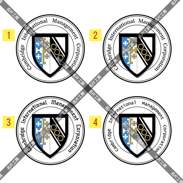 劍橋國際Logo對稿