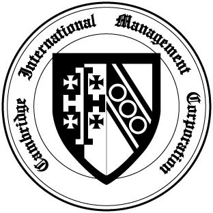 劍橋國際Logo黑白