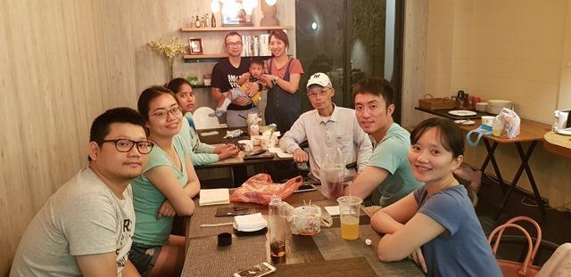 2018年5月12日 日月潭,家族旅行。