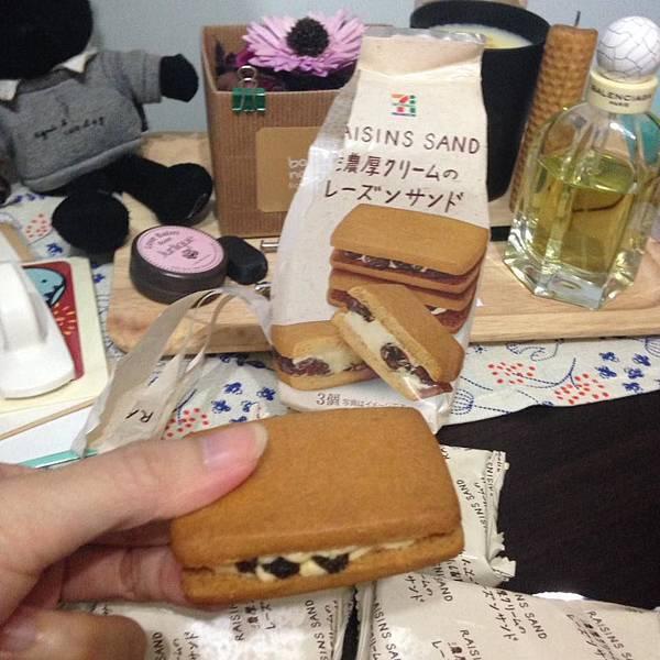 日本小7限定萊姆葡萄餅乾