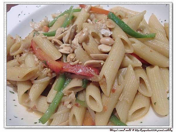 可以調整辣度的義大利麵