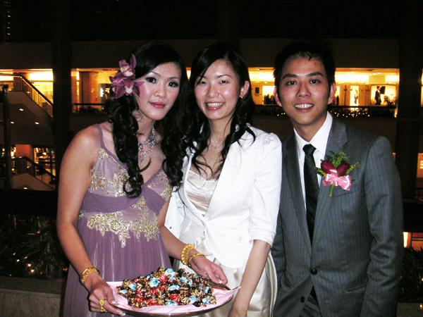 2007.04.28 新娘新郎跟小V