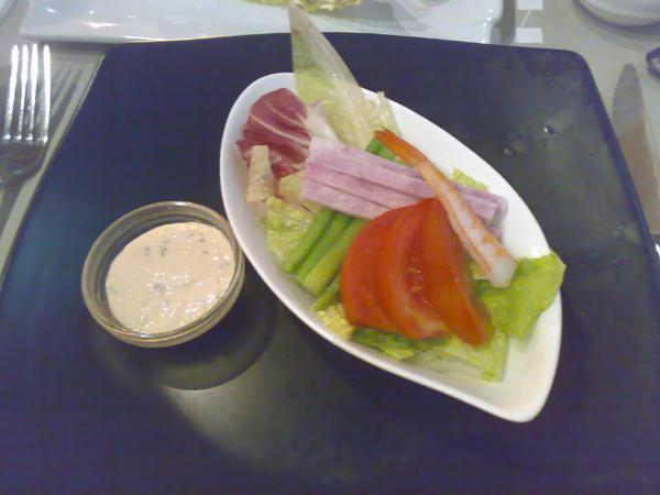 我點的沙拉總匯
